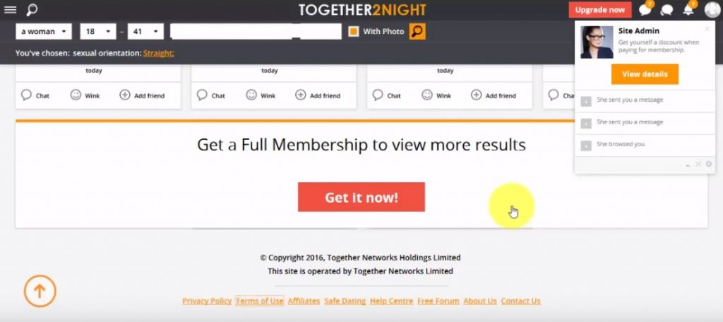 together2night membership