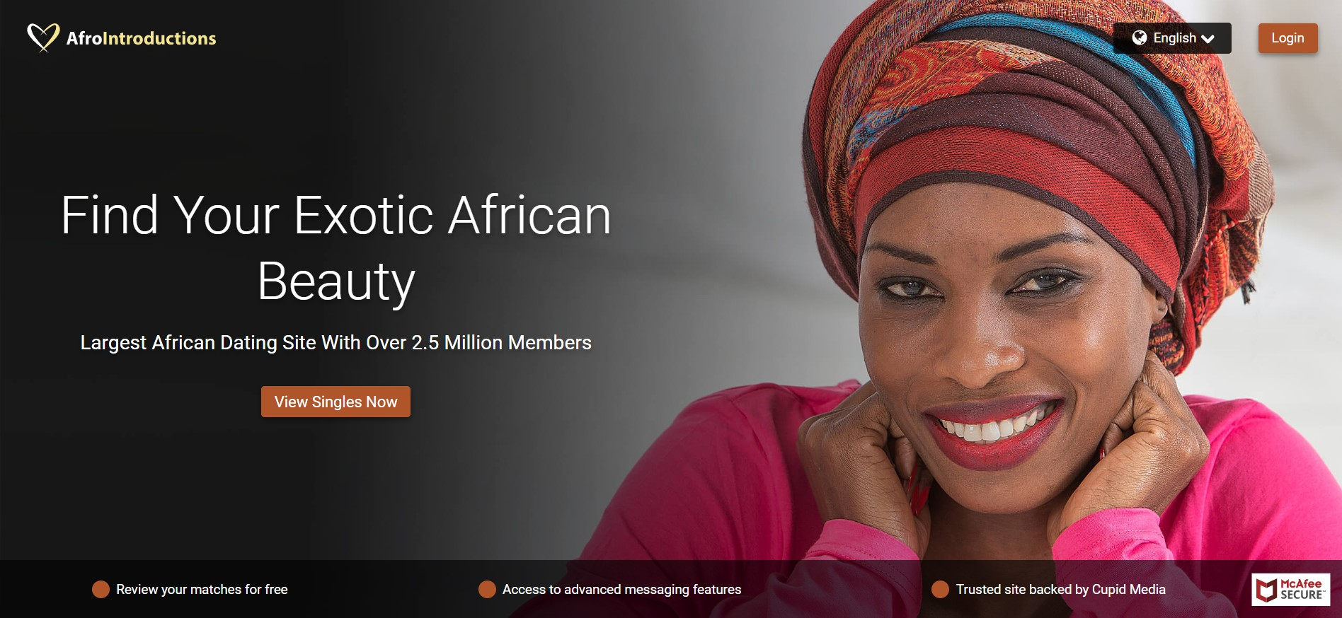 AfroIntroductions main page